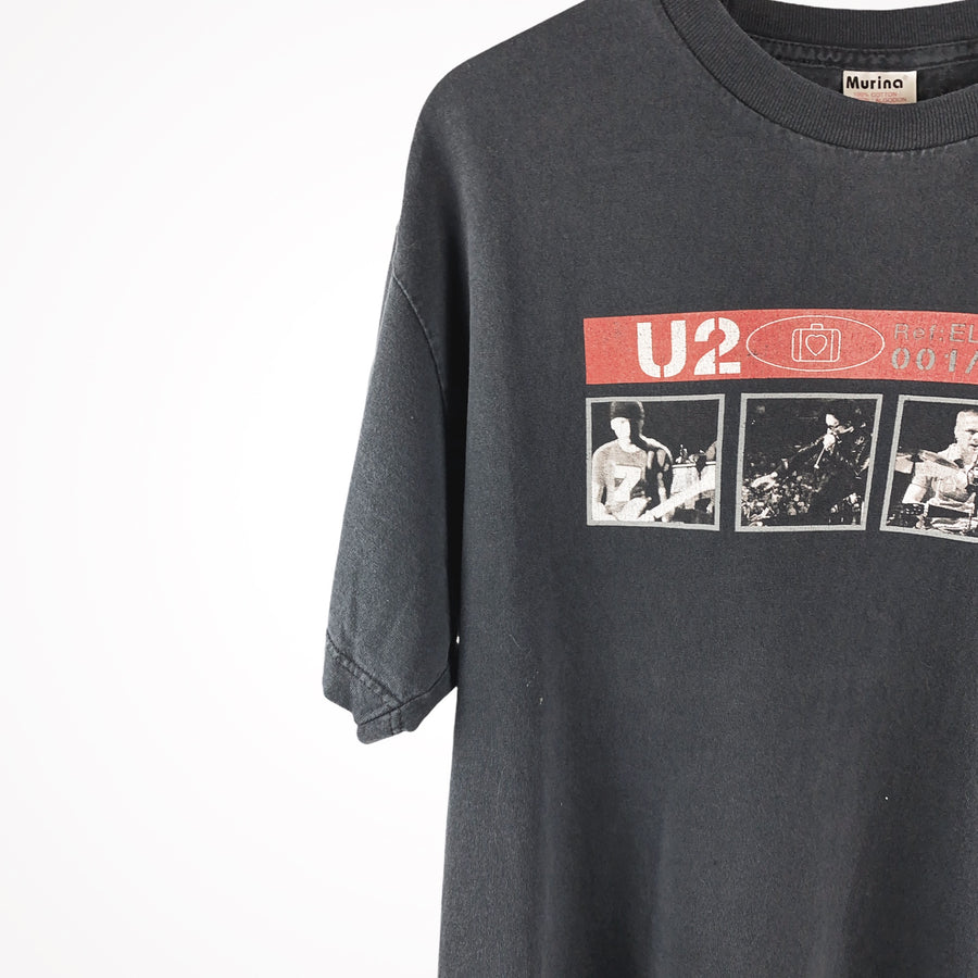 2001 Faded U2 Elevation Tour T-Shirt