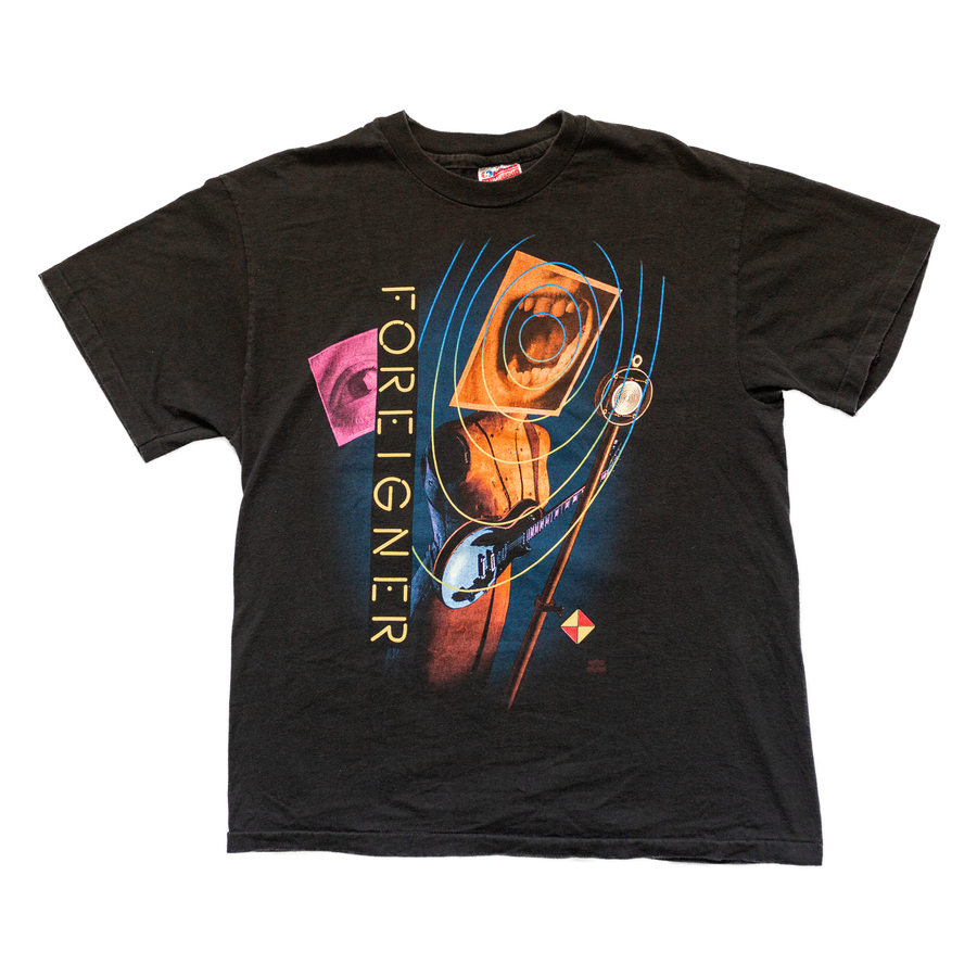 1992-1993 Foreigner Reunion Tour Vintage T-Shirt