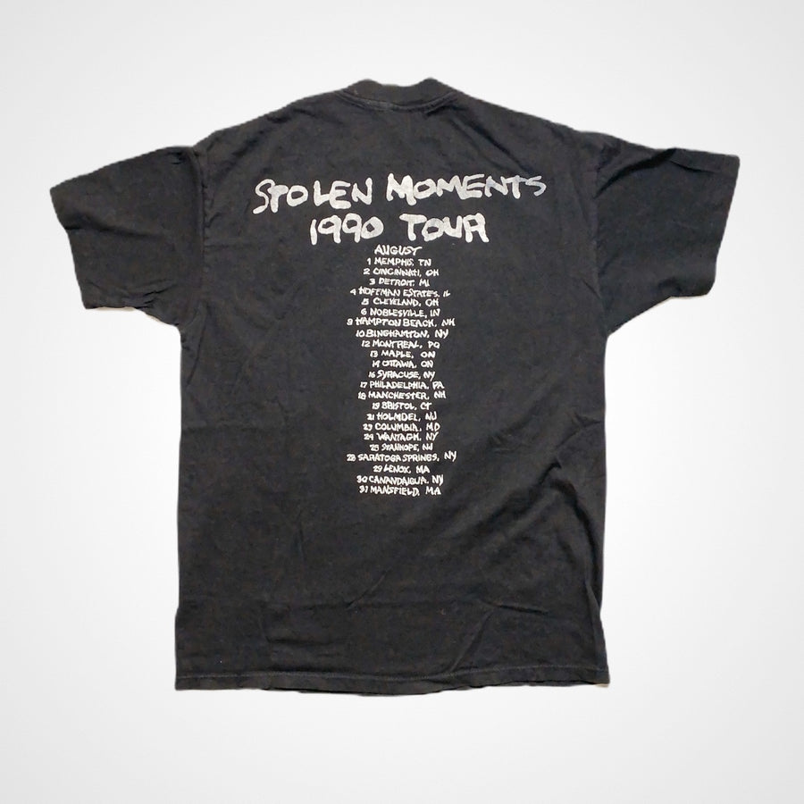 Vintage 1990 John Hiatt Stolen Moments Tour T-Shirt