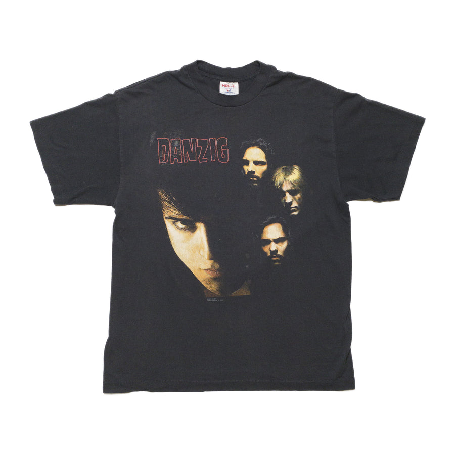 Danzig 1991 Faces Tour Vintage T-Shirt