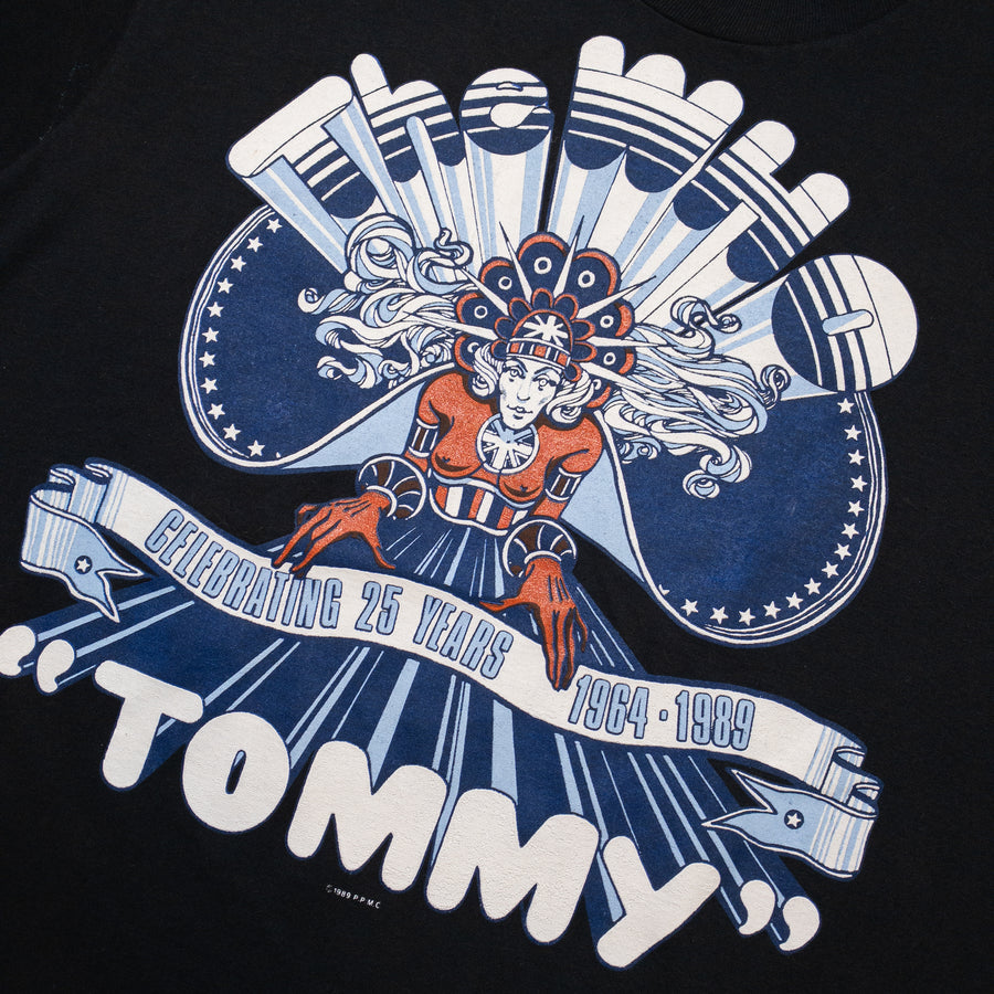 1989 The Who Tommy Reunion Tour Vintage T-Shirt