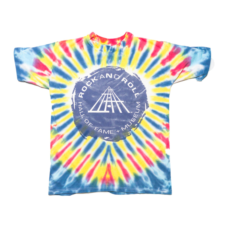 1995 Rock and Roll Hall of Fame Vintage Tie Dye T-Shirt