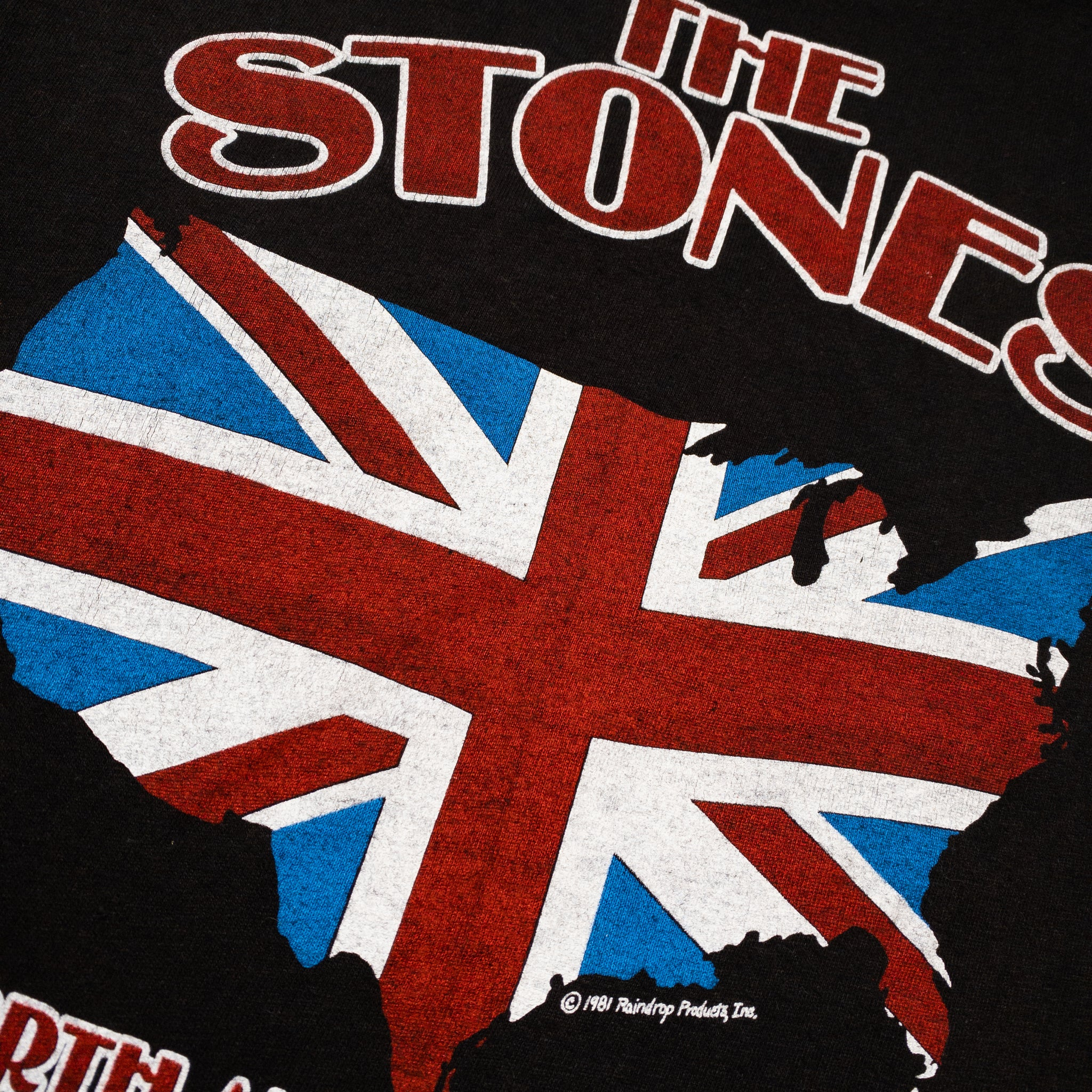 1981 The Rolling Stones North America Tour T-Shirt