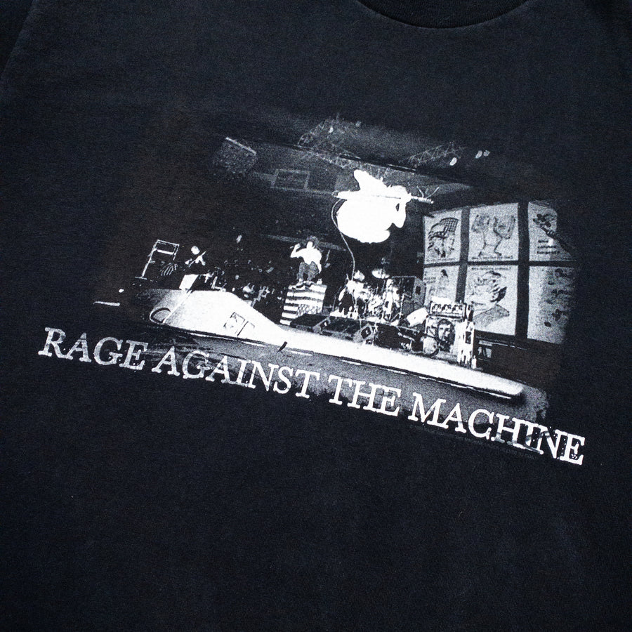 1998 Rage Against The Machine Live Photo Promo Vintage T-Shirt