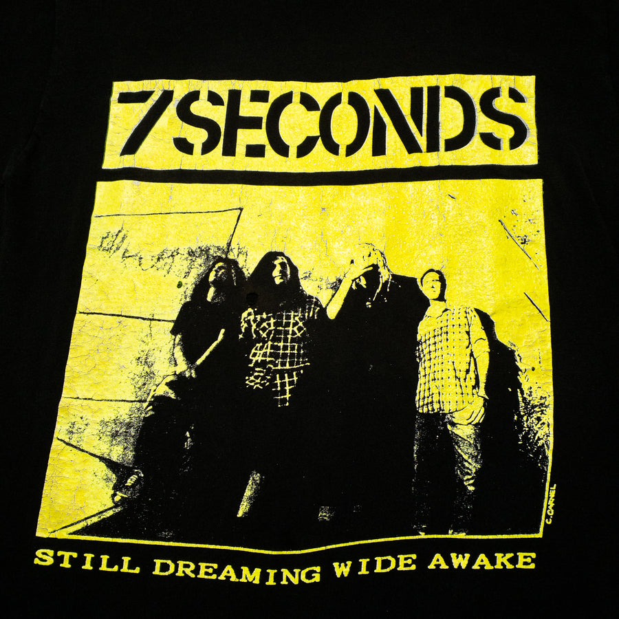 1989 7 Seconds Soulforce Revolution Tour Still Dreaming Wide Awake Vintage T-Shirt