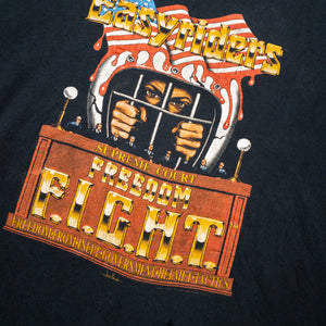 1990s Easyriders FREEDOM Fight Supreme Court Helmet Vintage T-Shirt