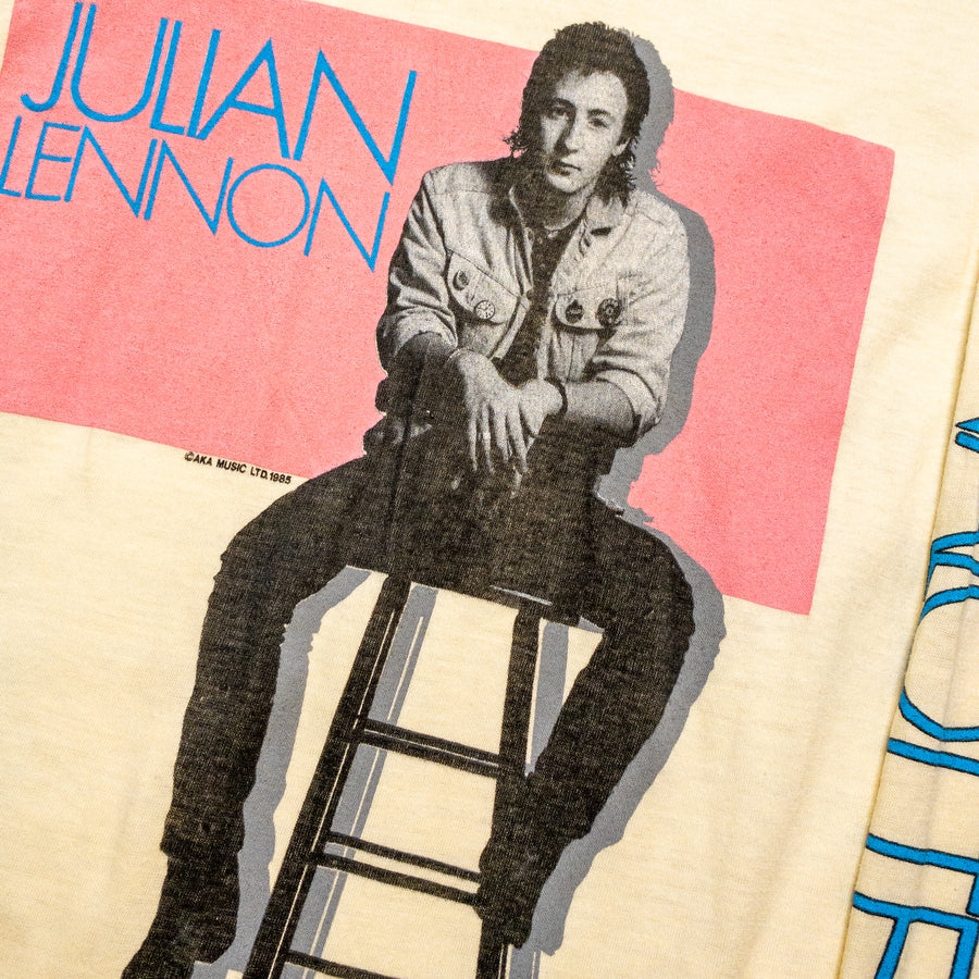 1985 Julian Lennon Valotte Tour Vintage Long Sleeve Band T-Shirt