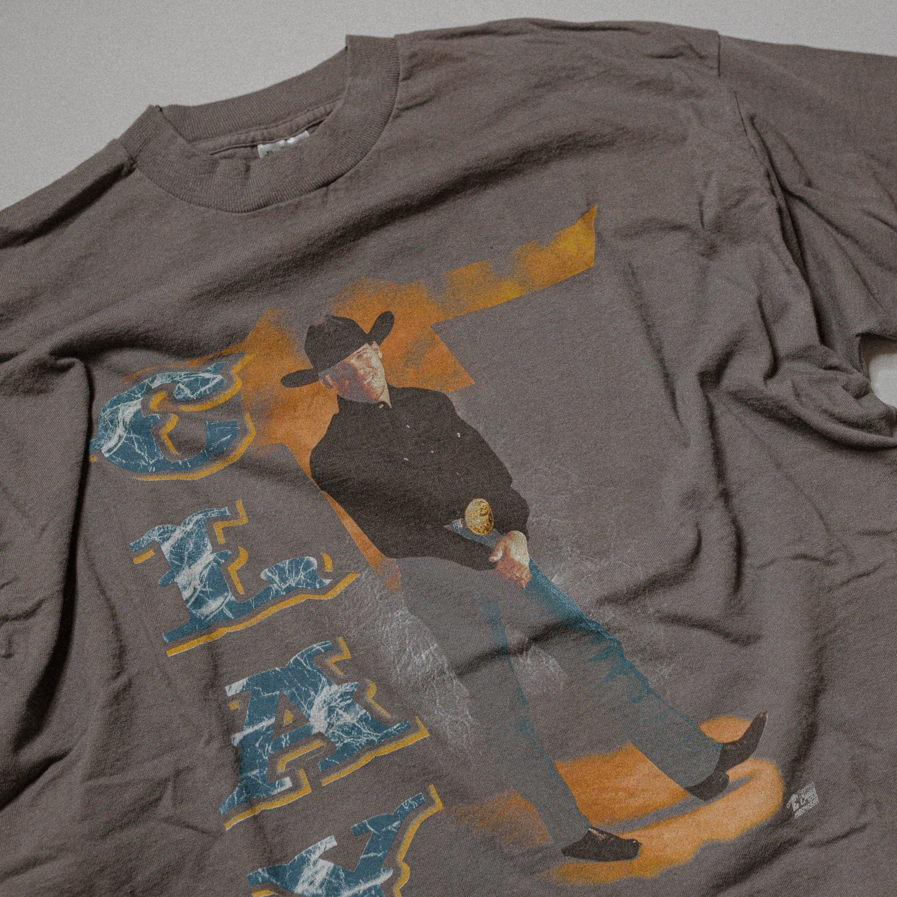 Vintage Clay Walker 1997 Four Star Blowout Tour Tee