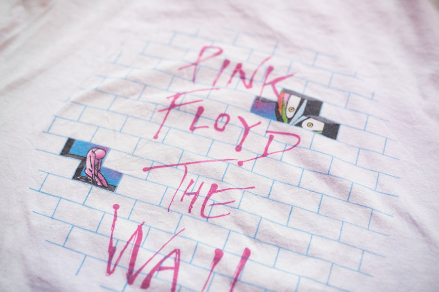 1982 Pink Floyd The Wall Promo Vintage T-Shirt