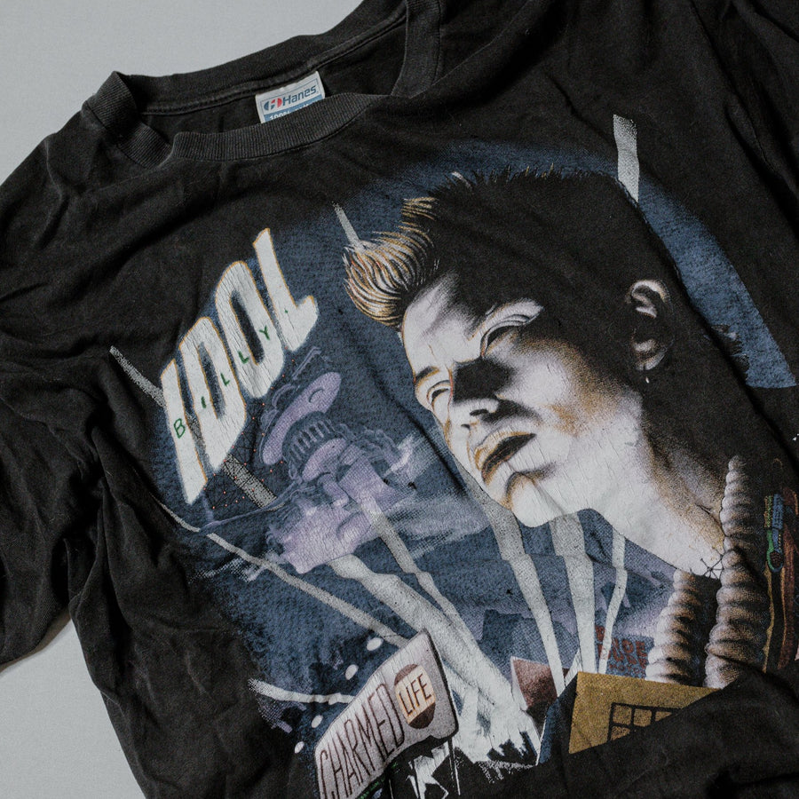 Vintage Billy Idol 1989 Charmed Life Promo T-Shirt
