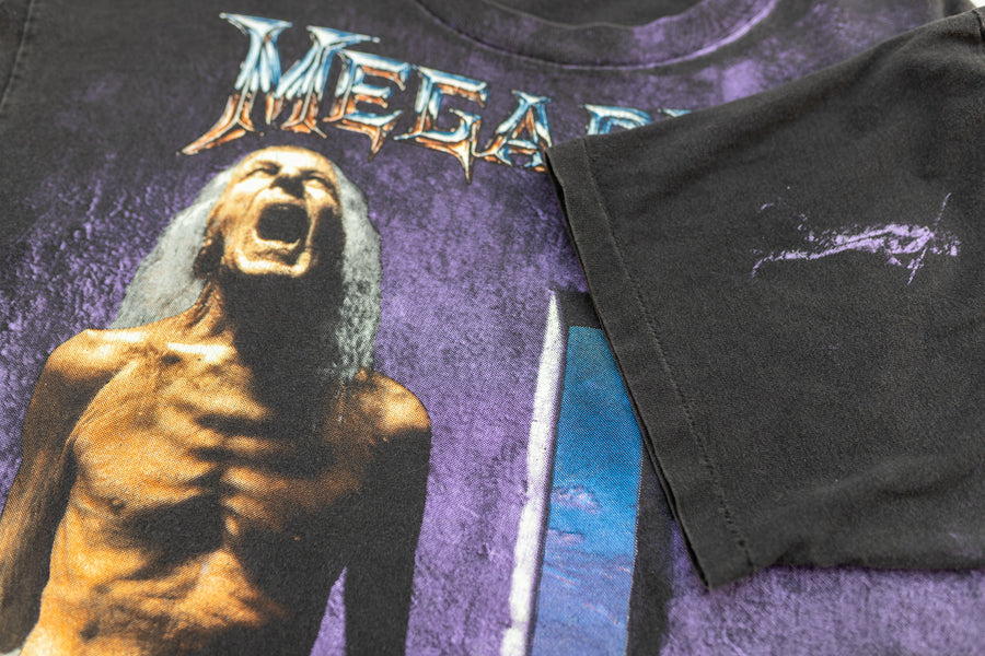 1992 Megadeth Countdown To Extinction All Over Print Vintage T-Shirt