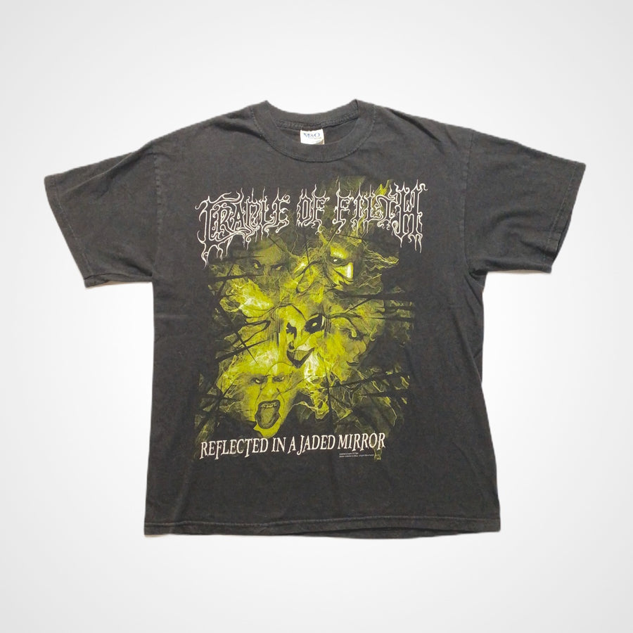Vintage Cradle of Filth 2003 Reflected in a Jaded Mirror Band T-Shirt
