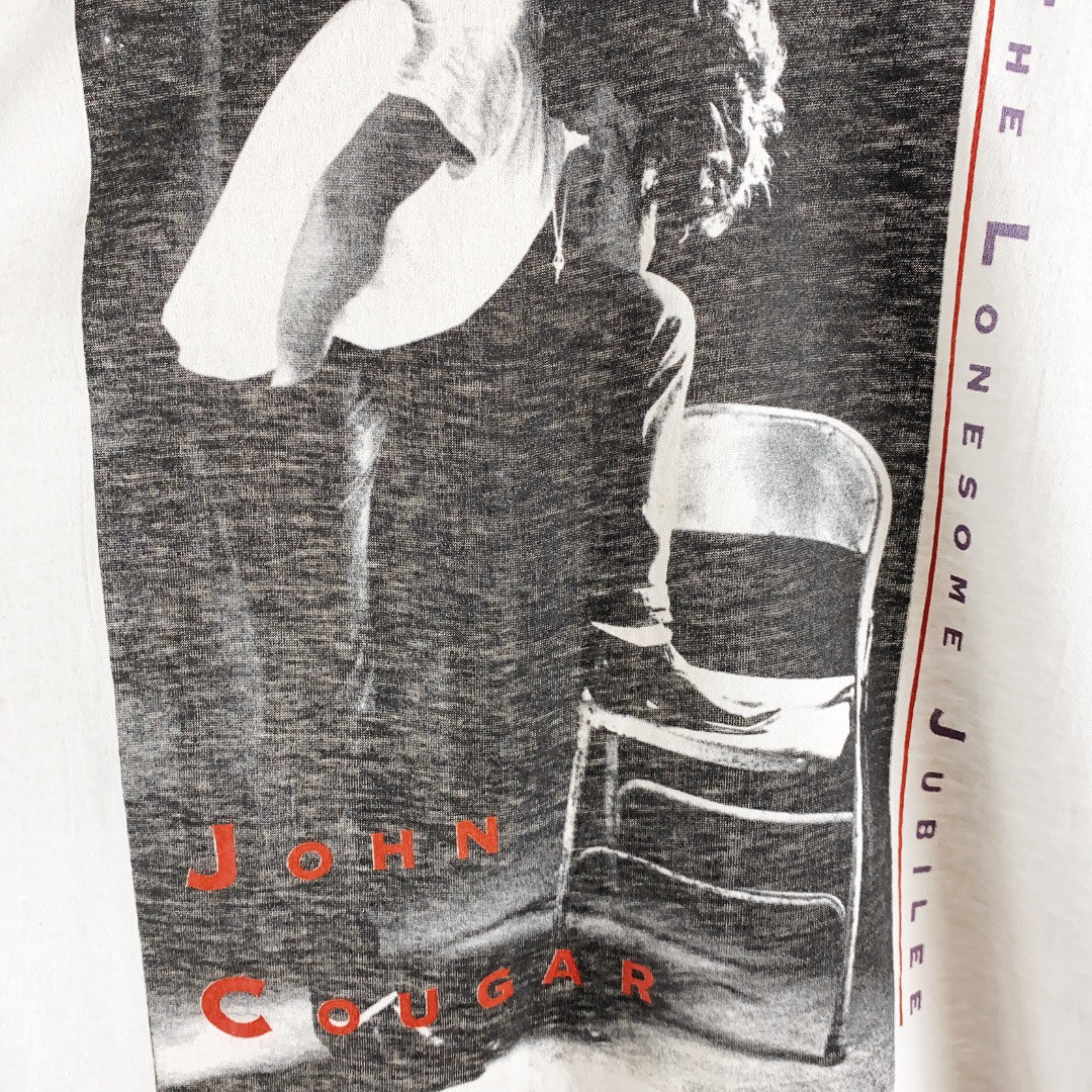 1987 John Cougar Mellencamp The Lonesome Jubilee Single Stitch Tour T-Shirt