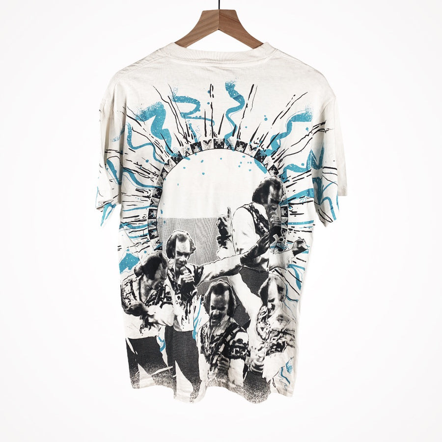 Vintage 90s Neil Diamond 92-93 All Over Print t-shirt