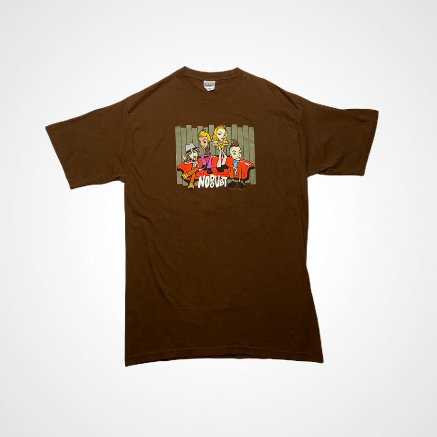 Vintage 2001 No Doubt Cartoon Promo Band t-shirt