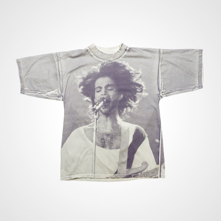 1993 Prince Live All Over Print Vintage T-Shirt