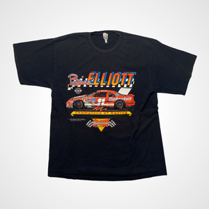 Vintage NASCAR Racing 1993 Bill Elliot Budweiser Racing T-Shirt