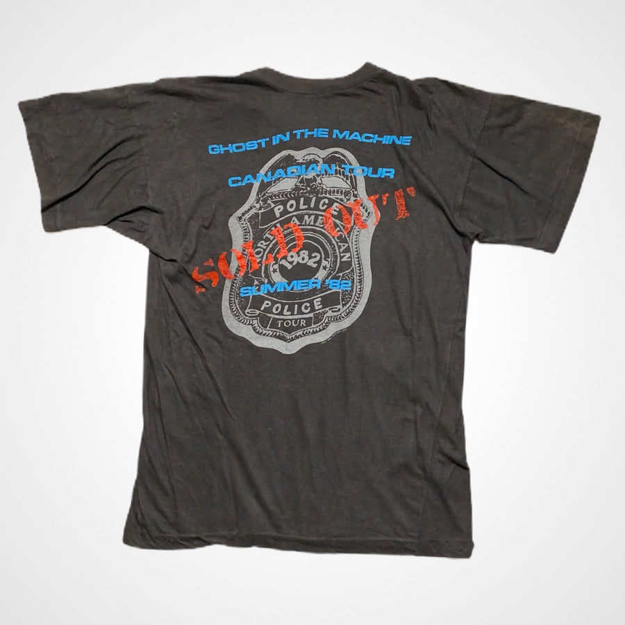 Vintage The Police 1982 Ghost In The Machine Canadian Tour T-Shirt