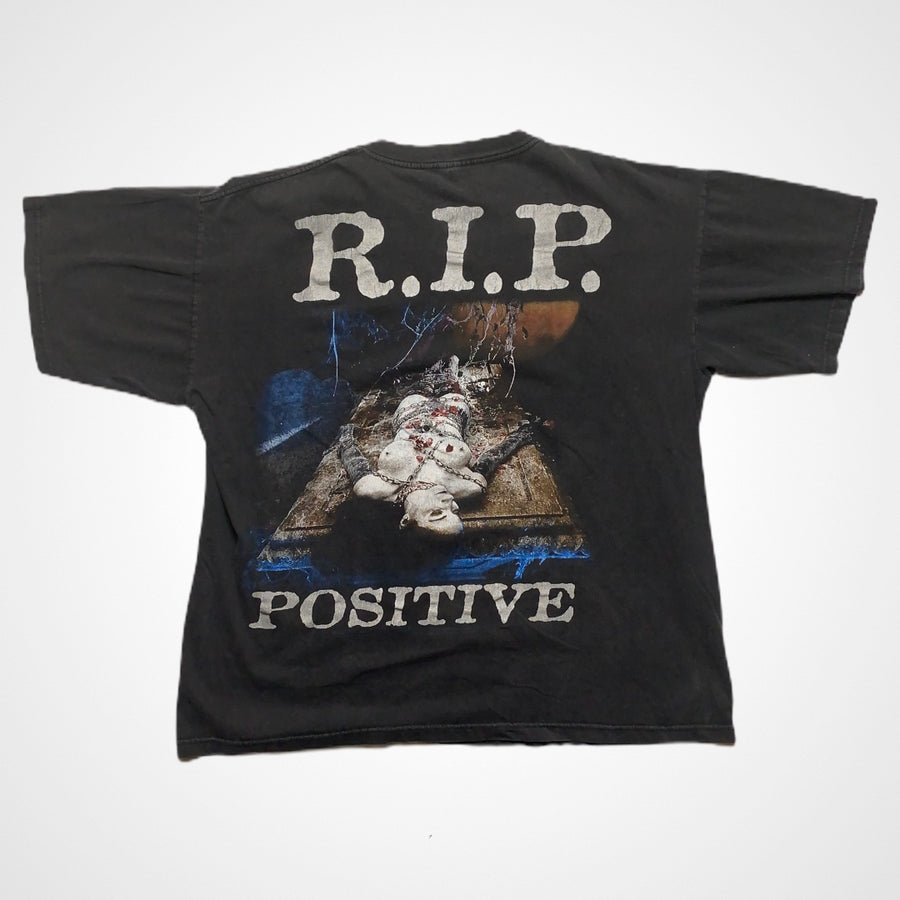 Vintage Cradle of Filth 1999 Life is my Sacrifice RIP positive T-Shirt