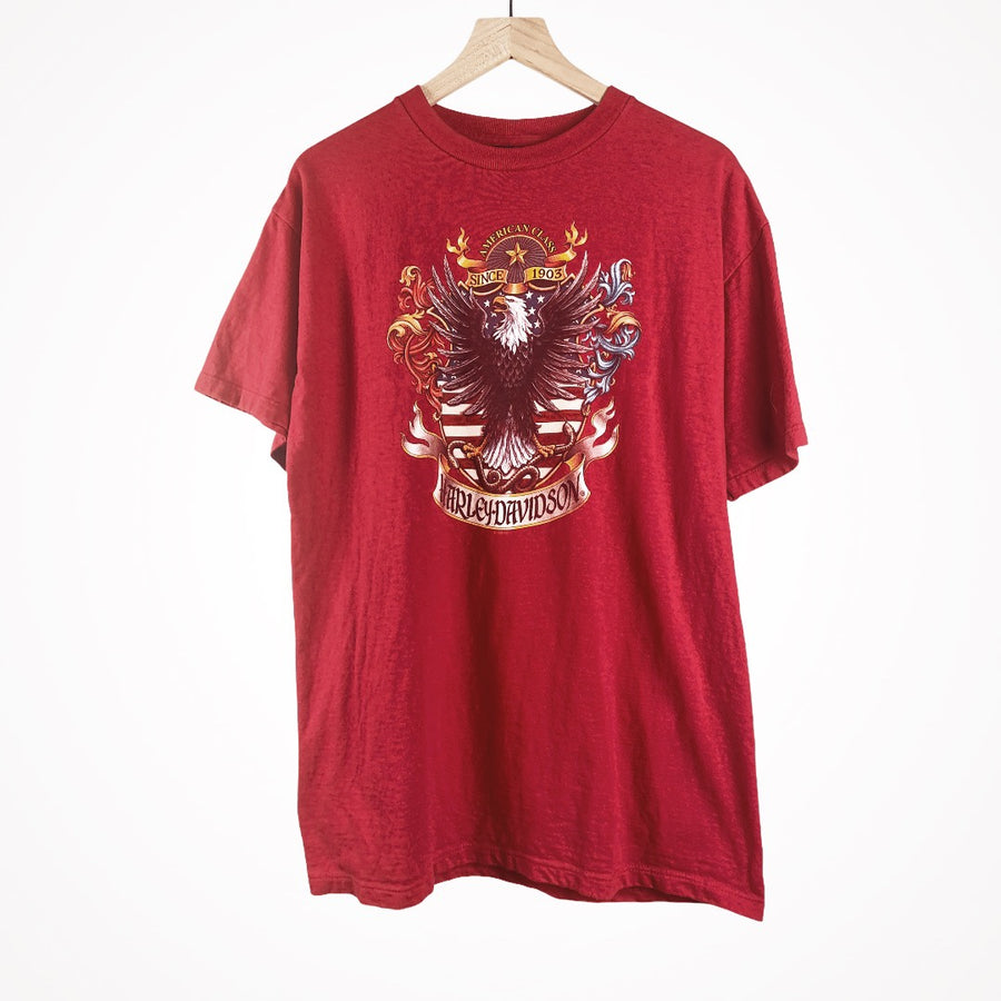 Vintage Harley 1998 Eagle Royal Family Crest T-Shirt
