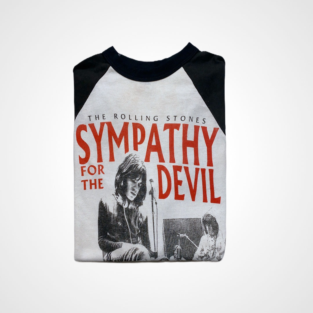 Vintage Rolling Stones 1980s Sympathy for the Devil Baseball Tee