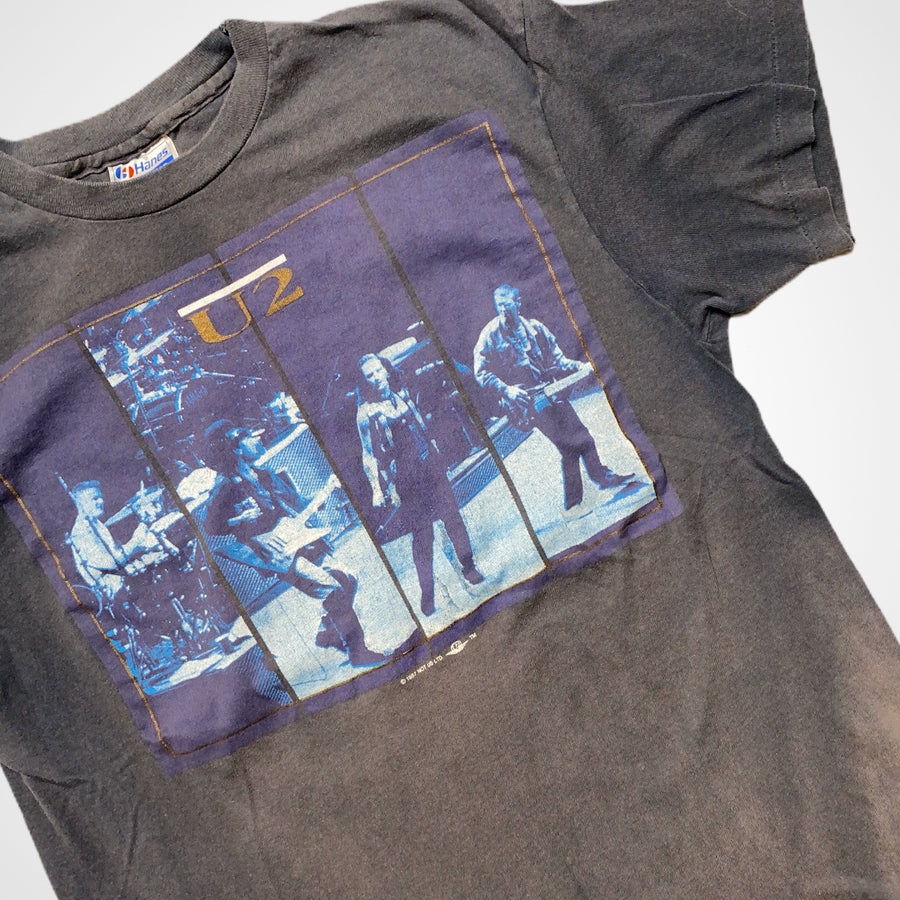 Vintage U2 1987 Joshua Tee Fall Tour T-Shirt