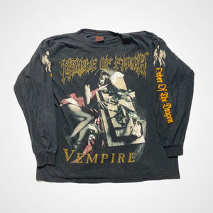 Vintage Cradle of Filth 1996 Vempire Longsleeve T-Shirt