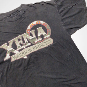 Vintage 90s Xena Warrior Princess TV Show Promo T-Shirt