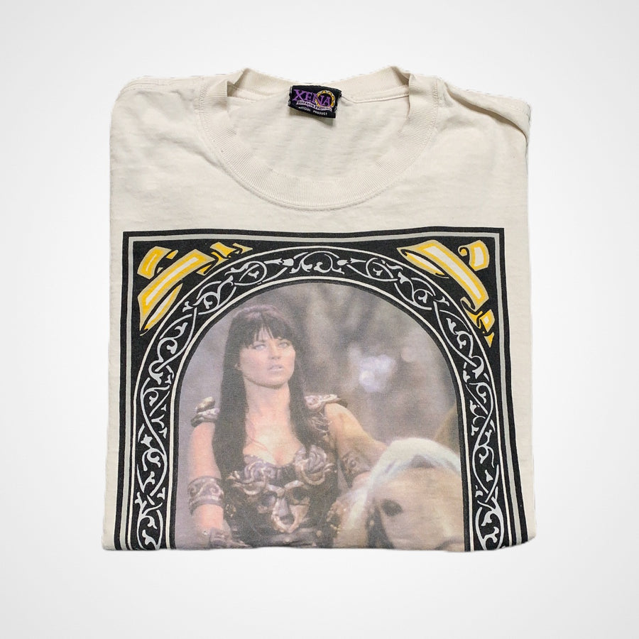Vintage 90s Xena Warrior Princess Photo TV Show Promo T-Shirt
