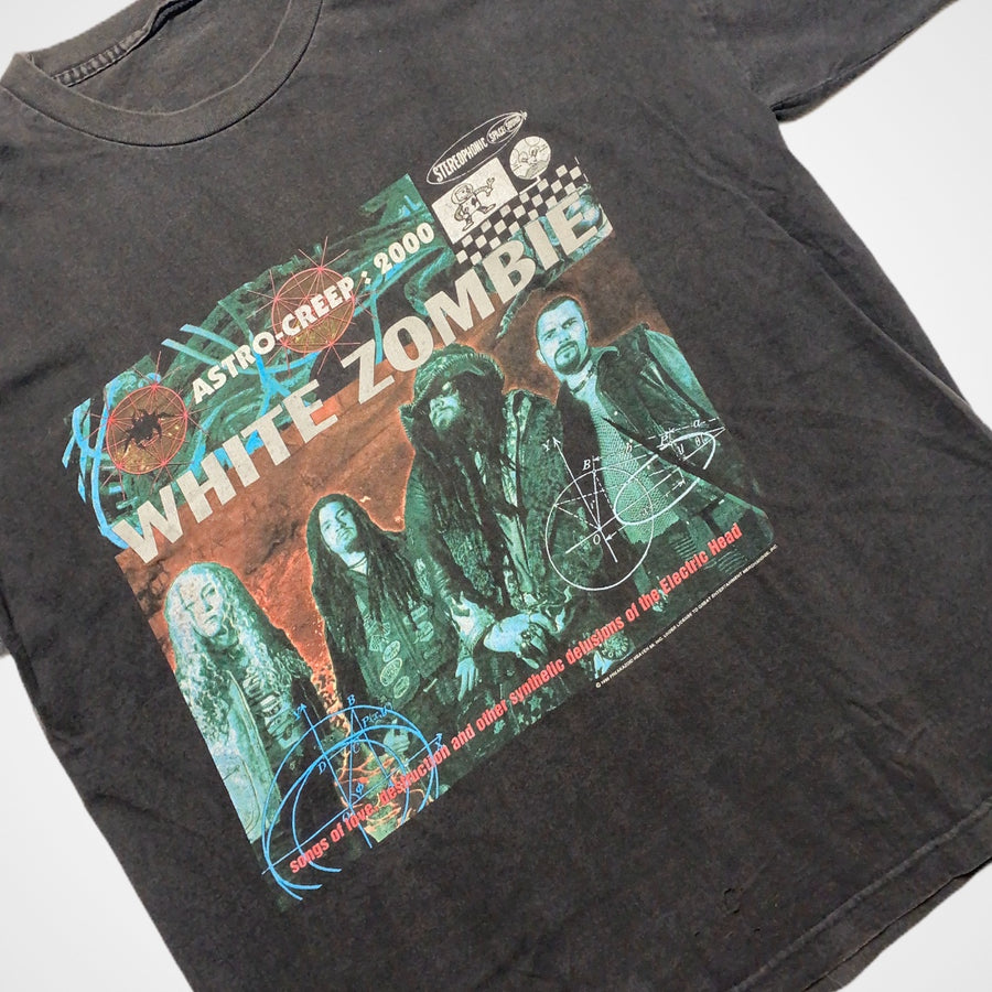 Vintage White Zombie 1995 Astro Creep: 2000 Rob Zombie 90s Tour T-Shirt