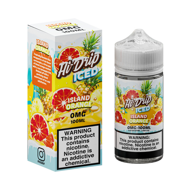 Hi-Drip - Island Orange Iced - 100ML
