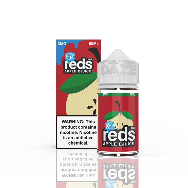 7 Daze - Reds Apple Iced - 60ML
