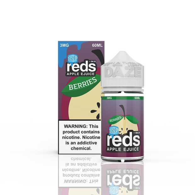 7 Daze - Reds Berries Iced - 60ML