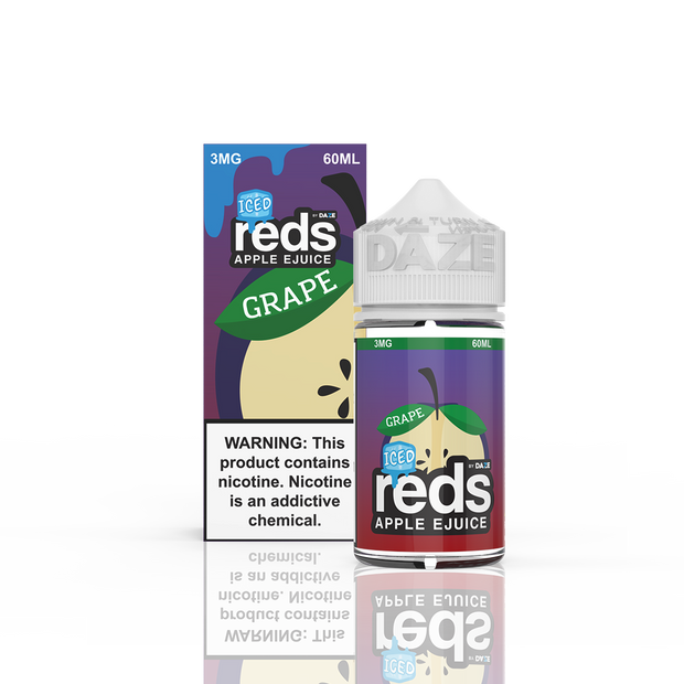 7 Daze - Reds Grape Iced - 60ML