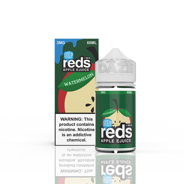 7 Daze - Reds Apple Watermelon Iced - 60ML