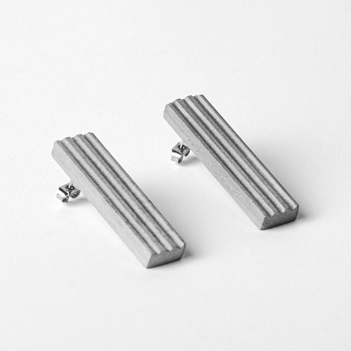 Blok — 50 Grey Earrings
