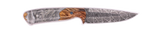 Carved Damascus Field Knife 20234