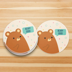 Beary Good Bear Sticker