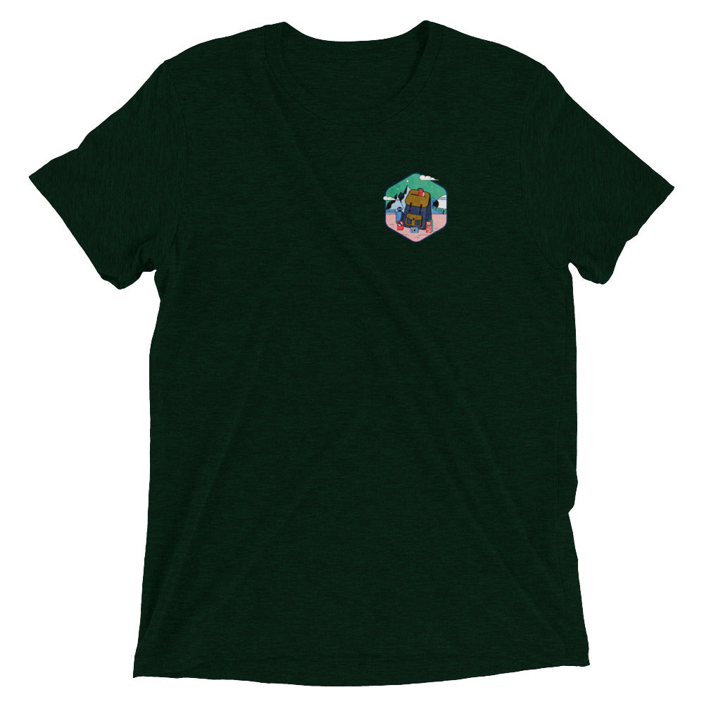Traveller Badge T-Shirt - Super Soft Cotton - Unisex