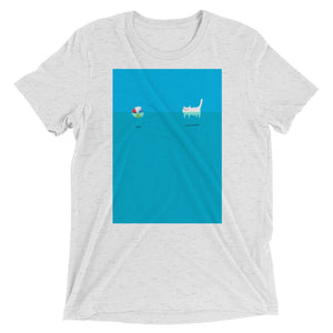 Beachball Cat T-Shirt - Super Soft Cotton - Unisex