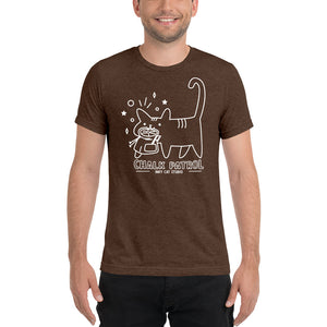 Chalk Patrol - Chalk Bag Cat T-Shirt