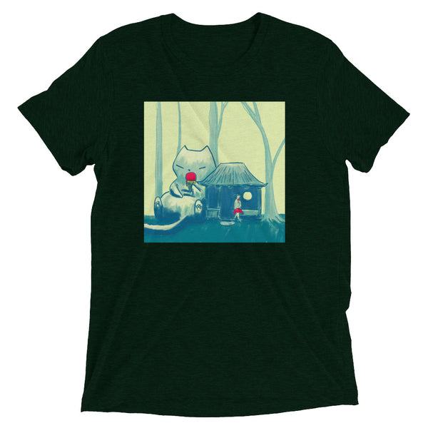 Break Time Forest Cat - Super Soft Tee - Unisex
