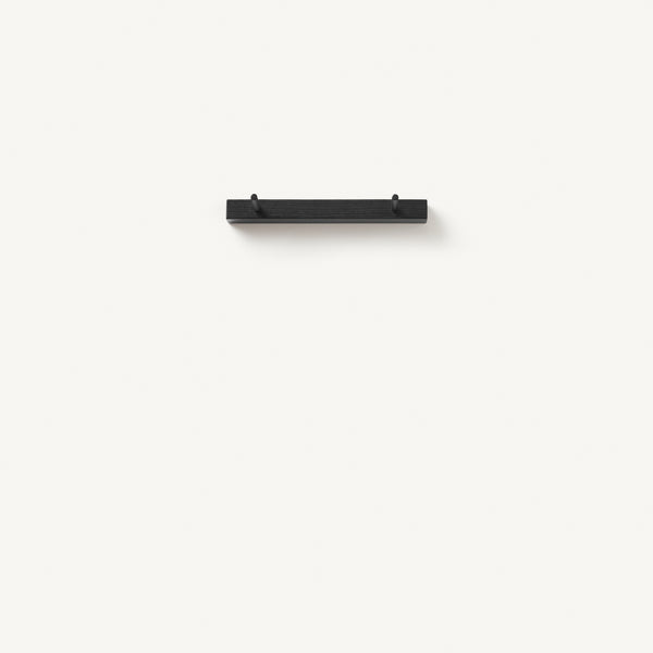 peg rail [COLOR-BLACK] [SIZE-2-PEGS]