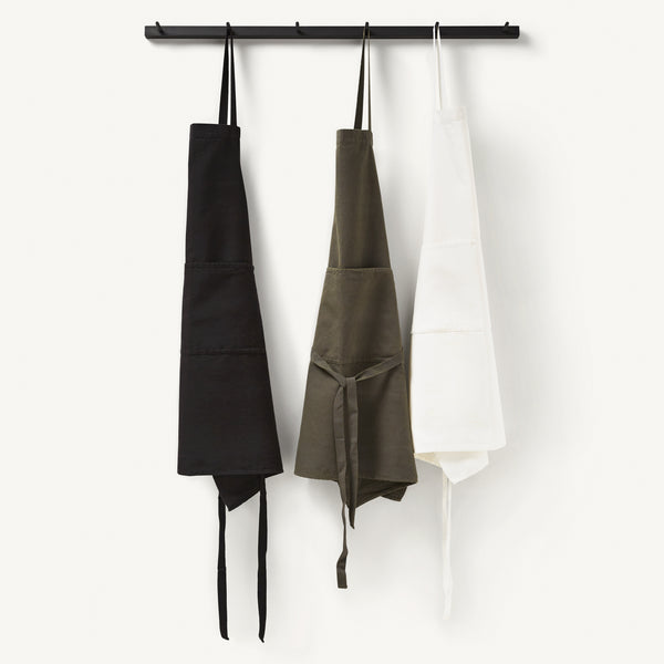 linen apron [COLOR-WHITE]