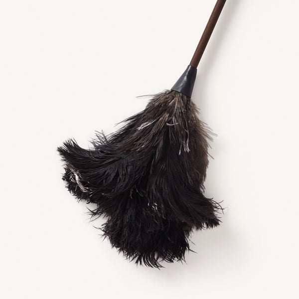 redecker long handled ostrich feather duster