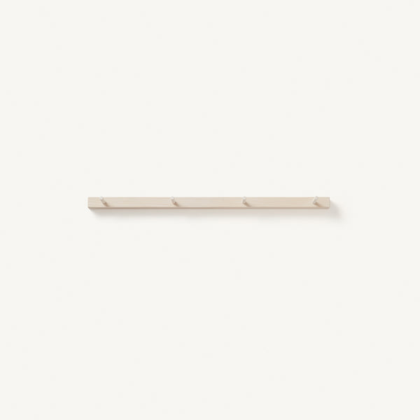 peg rail [COLOR-BLEACHED] [SIZE-4-PEGS]