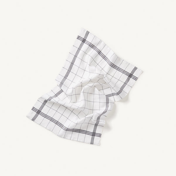 linen tea towel set [COLOR-WHITE]