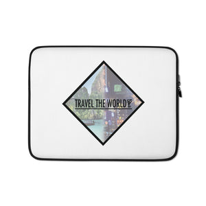 Travel The World Laptop Sleeve - BranVille