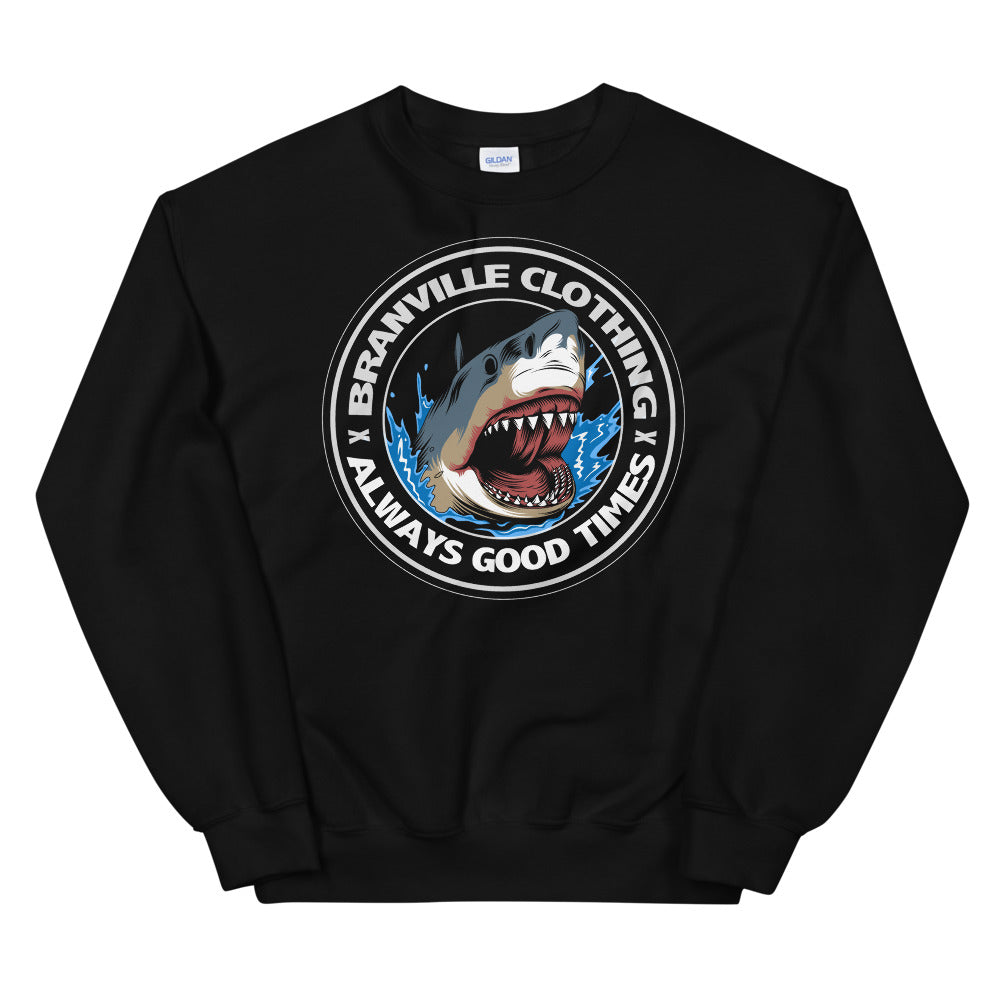 Great White Shark Crewneck Sweatshirt