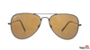 TAG Hills TG S 10213 TG-S-10213 Brown Large Aviator Full Rim UVSunglasses